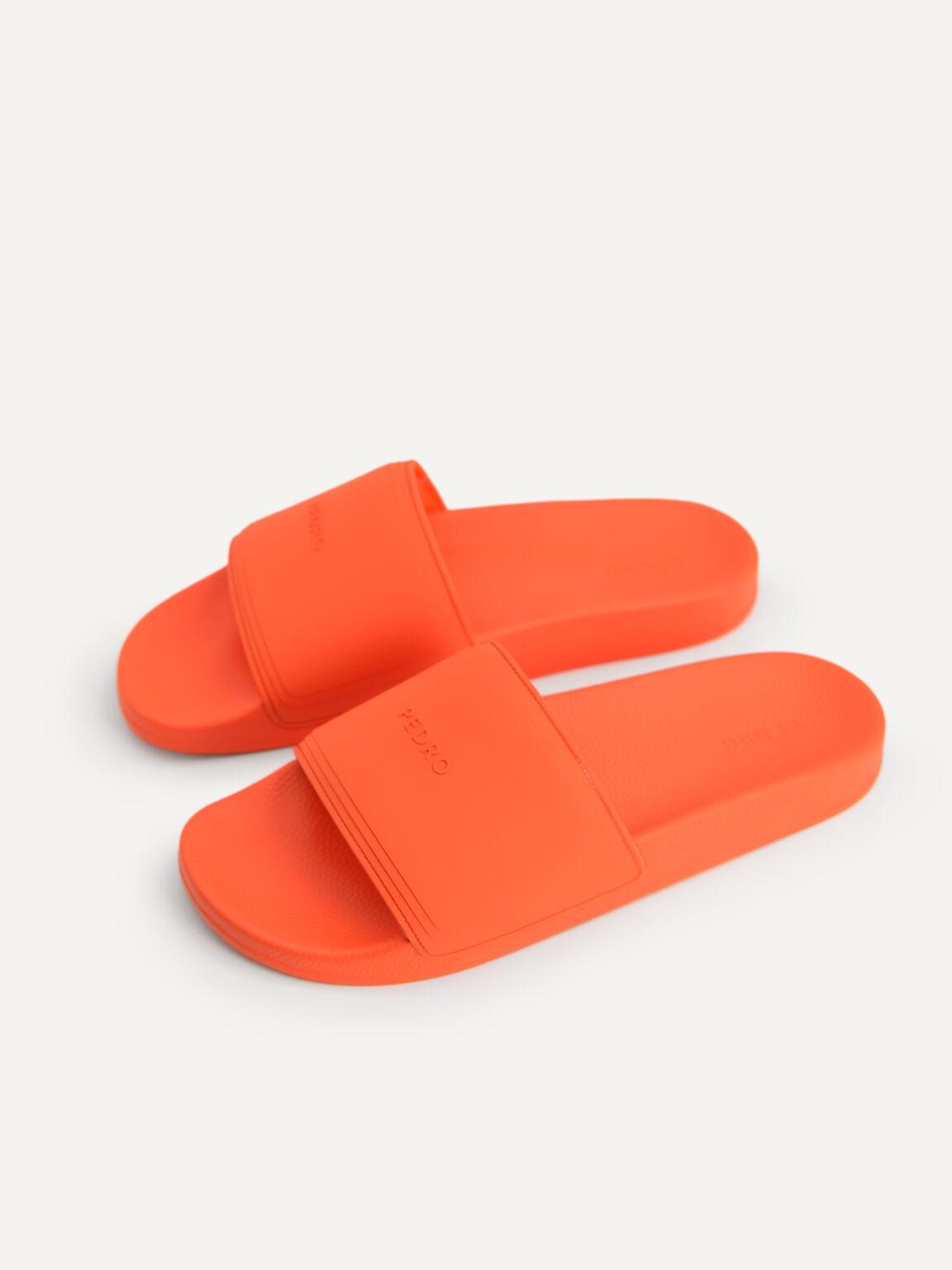 Casual Slides, Orange, hi-res