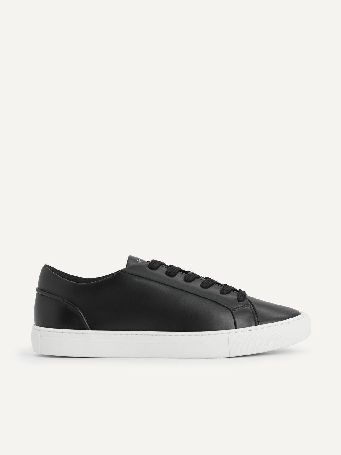 Atlas Lace-up Sneakers, Black, hi-res
