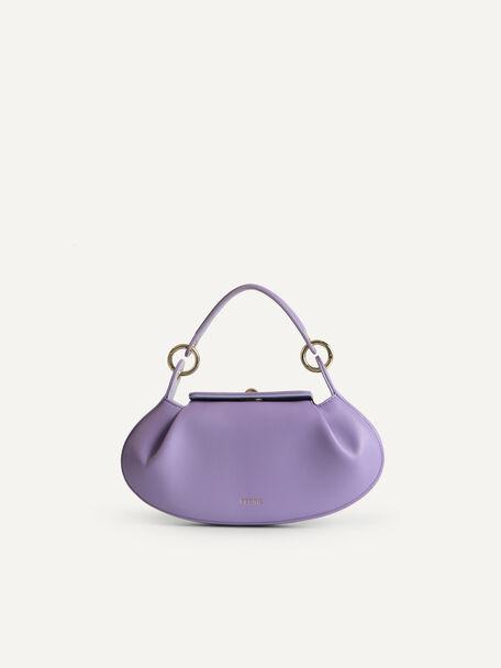 Oval Shoulder Bag, Mauve, hi-res