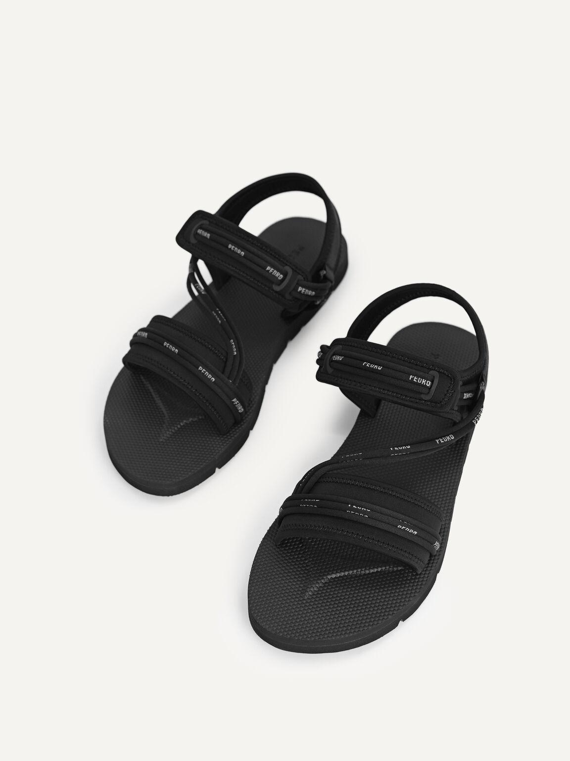 露跟涼鞋, 黑色, hi-res