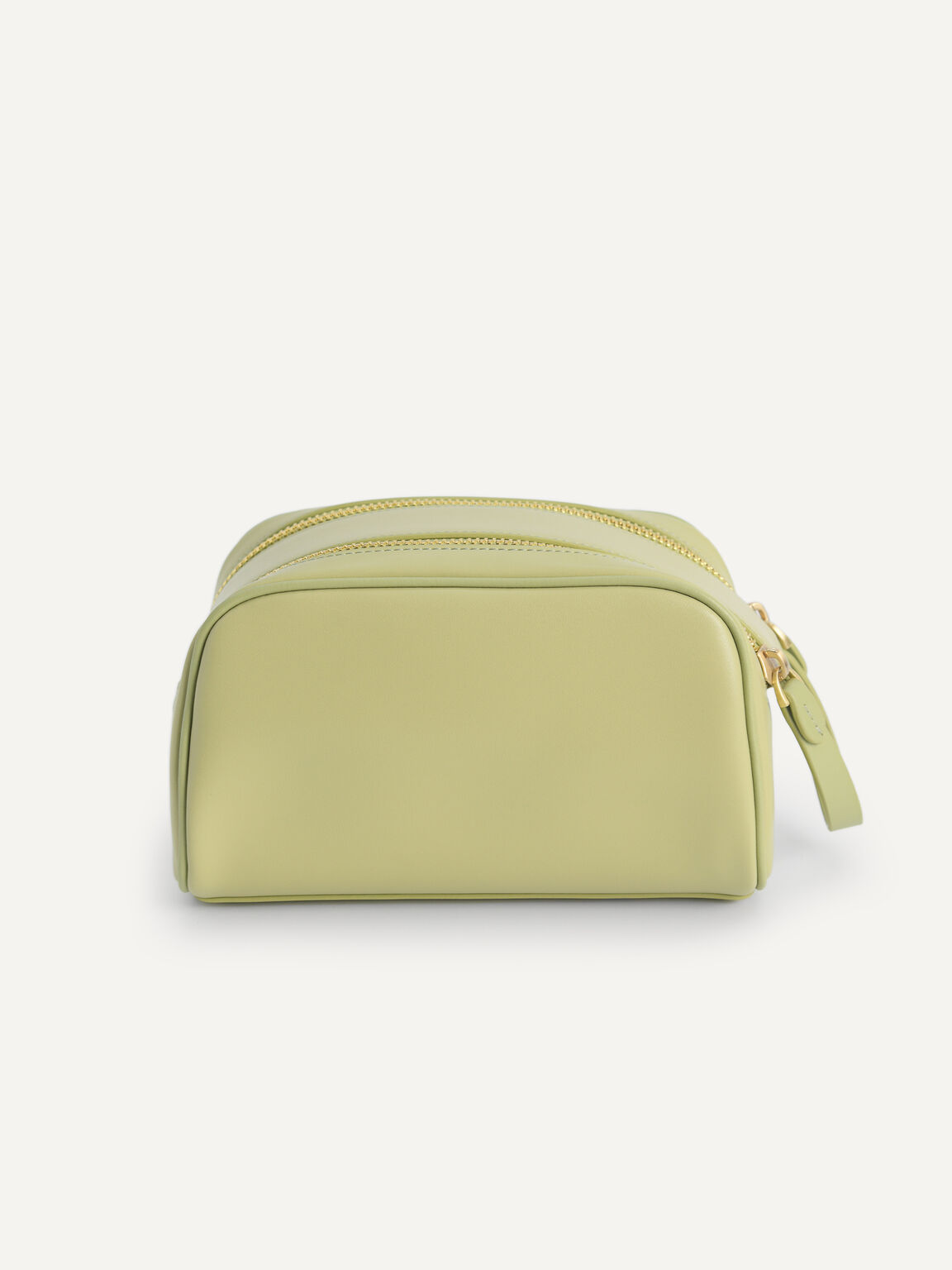 Casual Cosmetic Pouch, Olive, hi-res