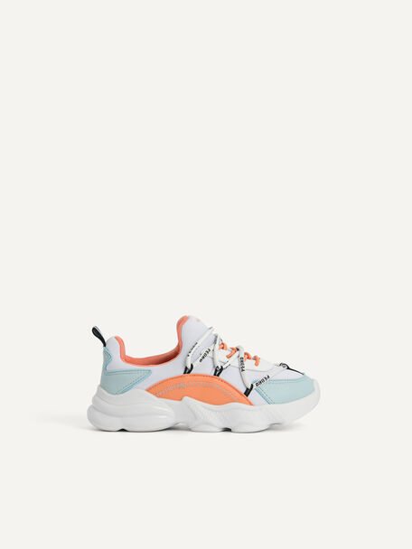 Colourblock Cord Sneakers, Multi, hi-res