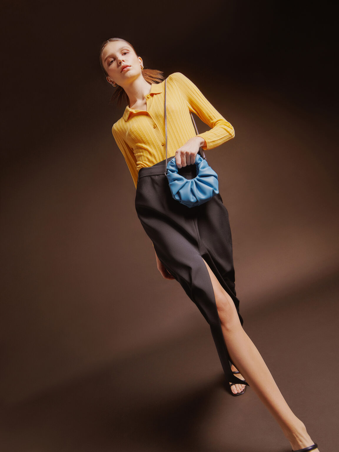 Mini Venus Hobo Bag, Cyan, hi-res