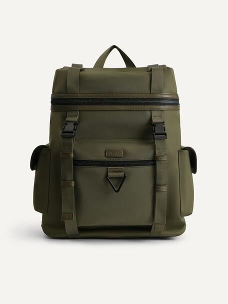 Utilitarian Backpack, Olive, hi-res
