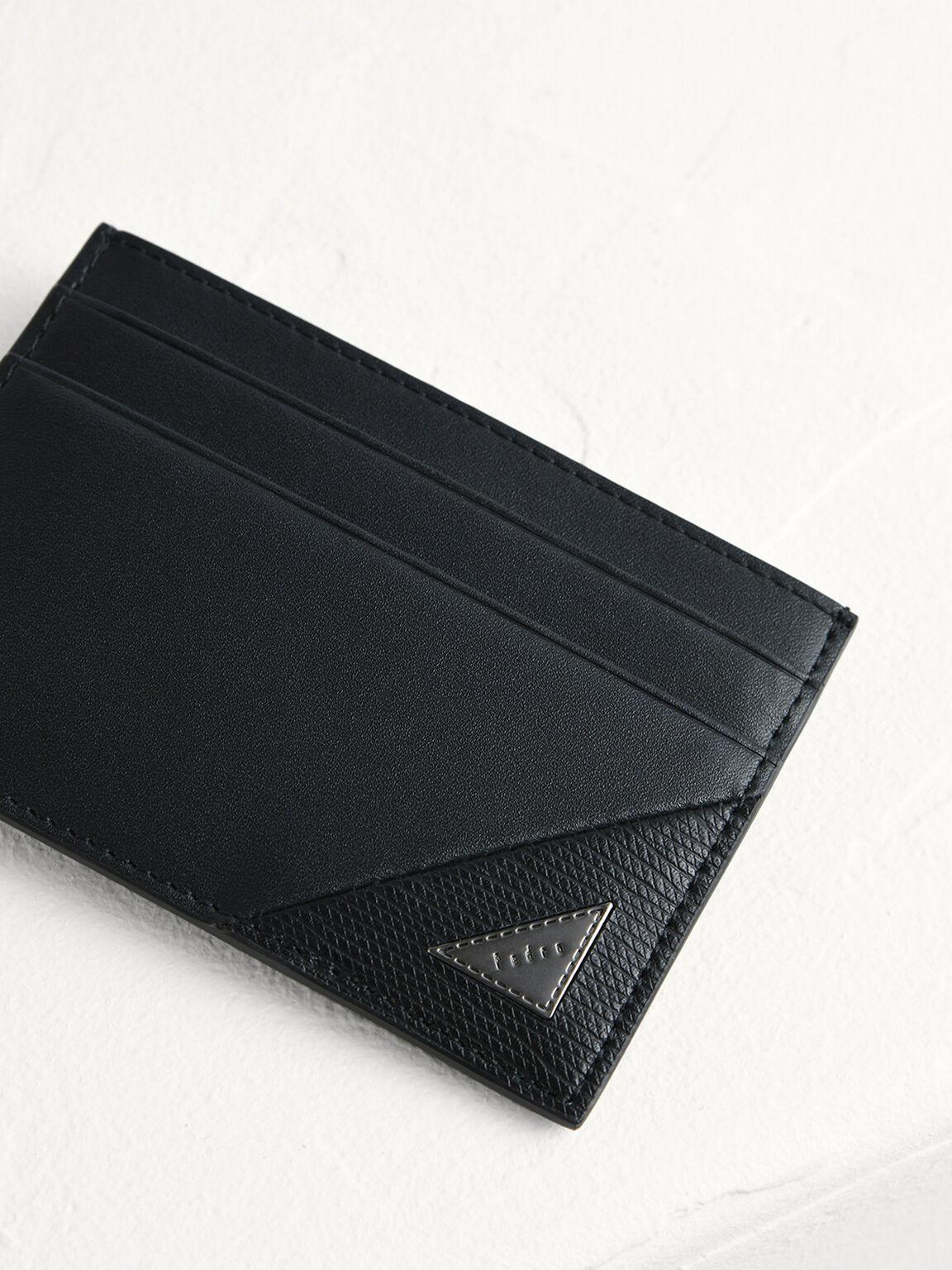 皮革卡包, 黑色, hi-res
