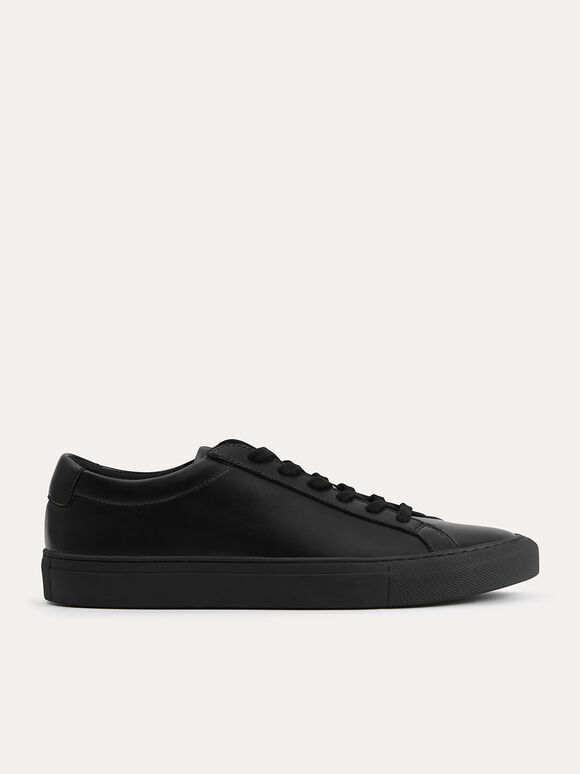 Atlas Court Sneakers, Black, hi-res