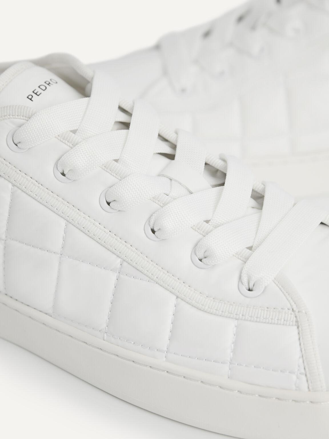 絎縫休閒運動鞋, 白色, hi-res