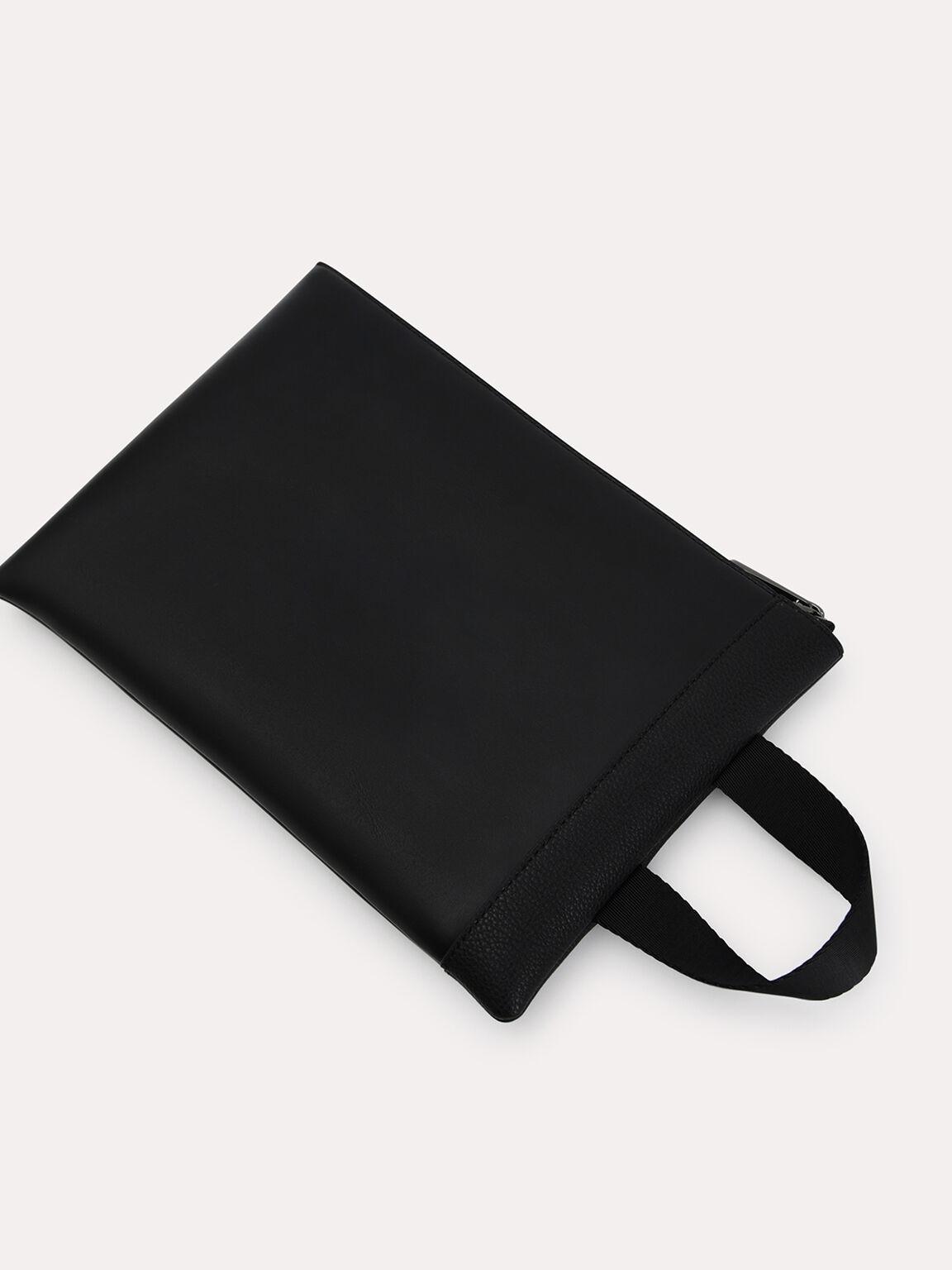 Two-Way Casual Clutch, Black, hi-res