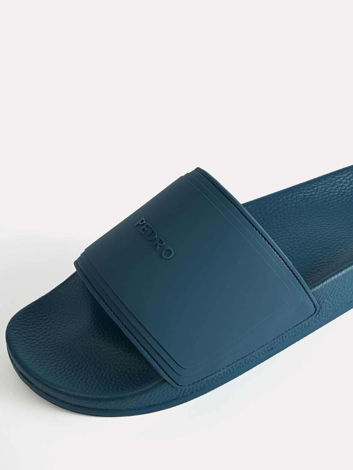 Casual Slides, Cyan, hi-res