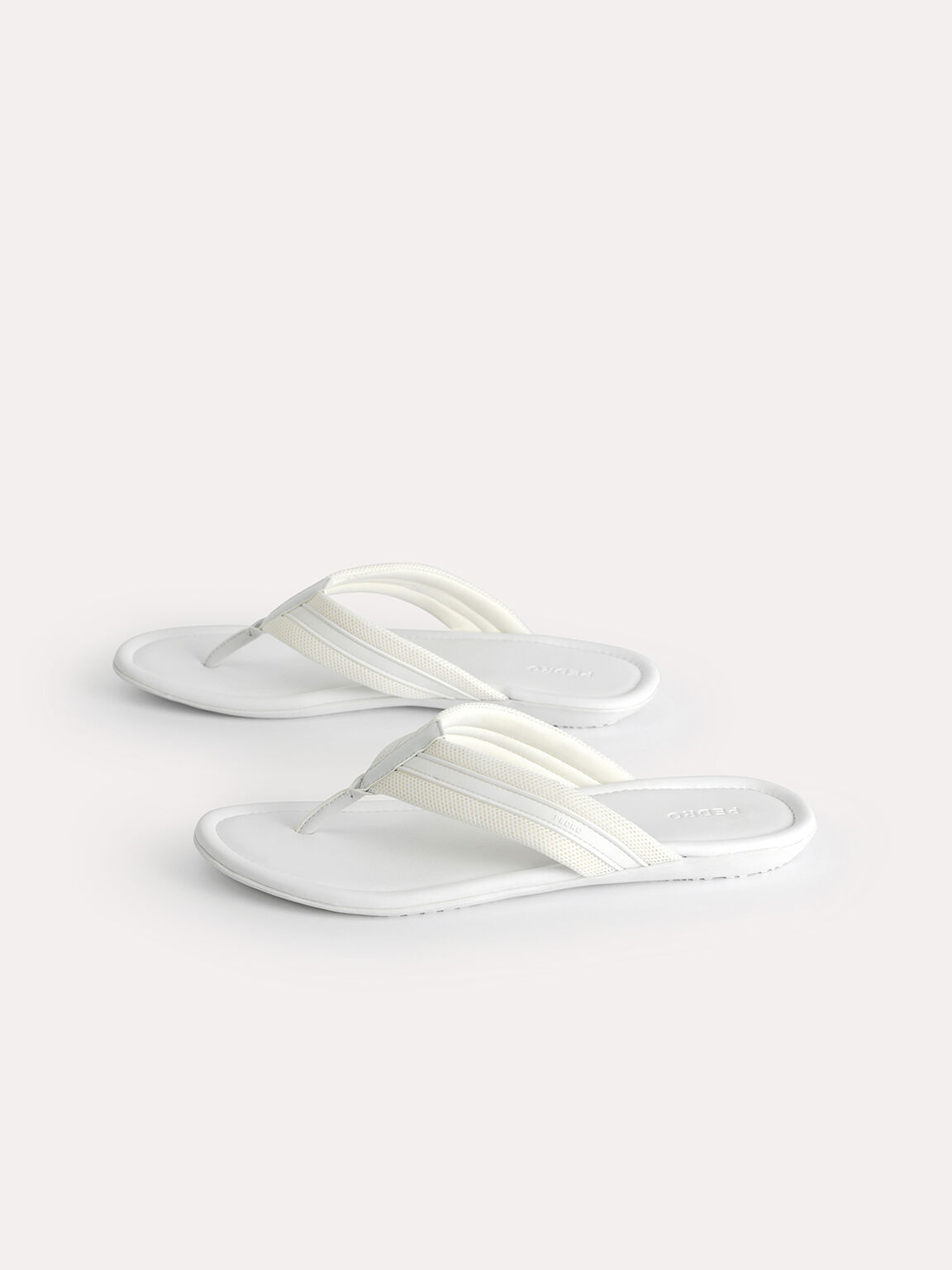 Thong Sandals, White, hi-res