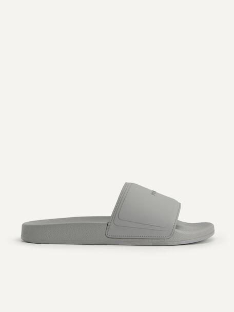 Casual Slides, Grey, hi-res