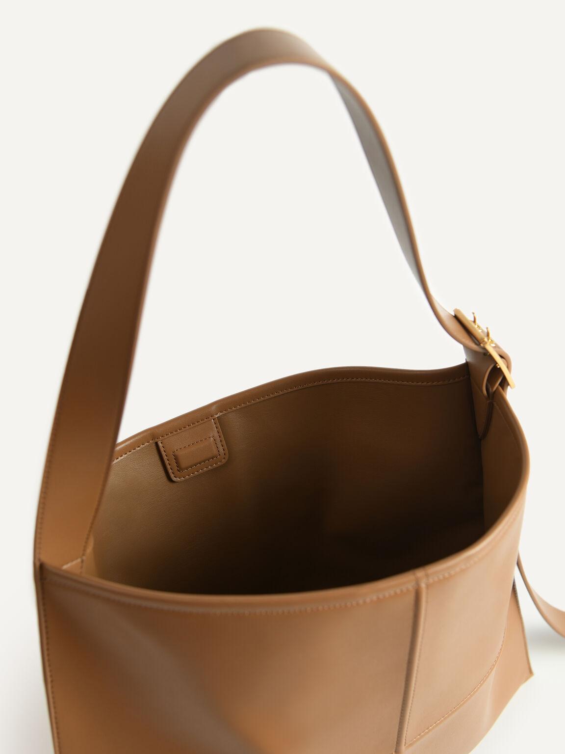 Tangram Hobo Bag, Brown, hi-res