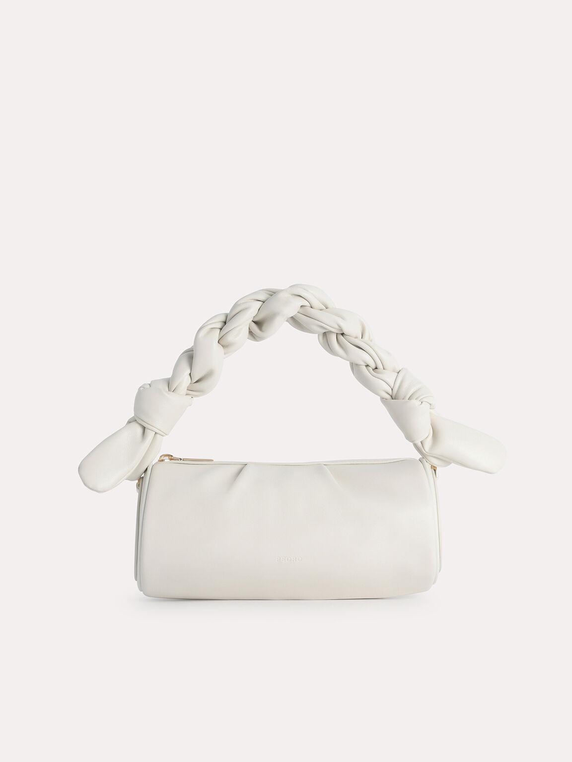 Mini Twisted Rope Shoulder Bag, Chalk, hi-res
