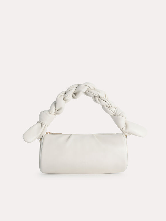 Mini Twisted Rope Shoulder Bag, Chalk, hi-res