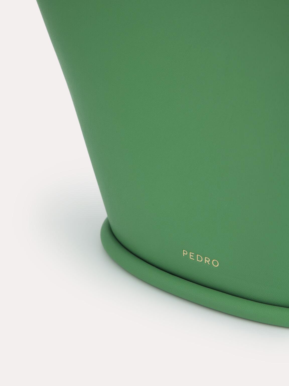 Pastel Bucket Tote Bag, Green, hi-res