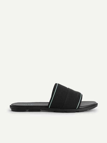 Nylon Slides, Black, hi-res