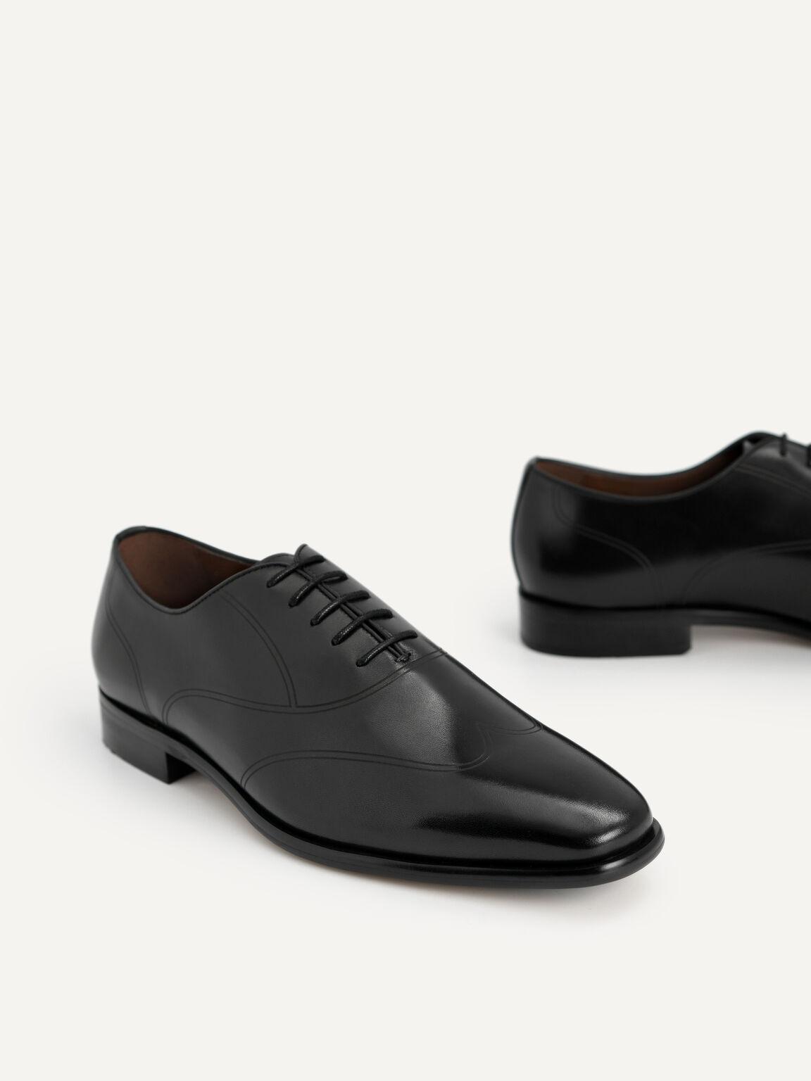 拋光皮革德比鞋, 黑色, hi-res
