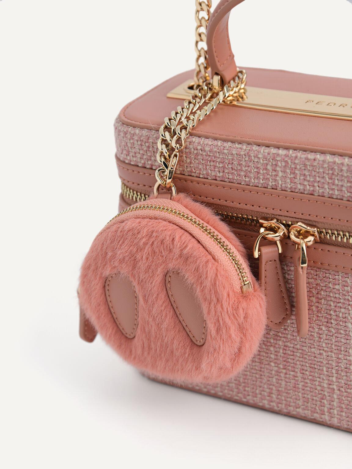 Boxy Shoulder Bag, Pink, hi-res