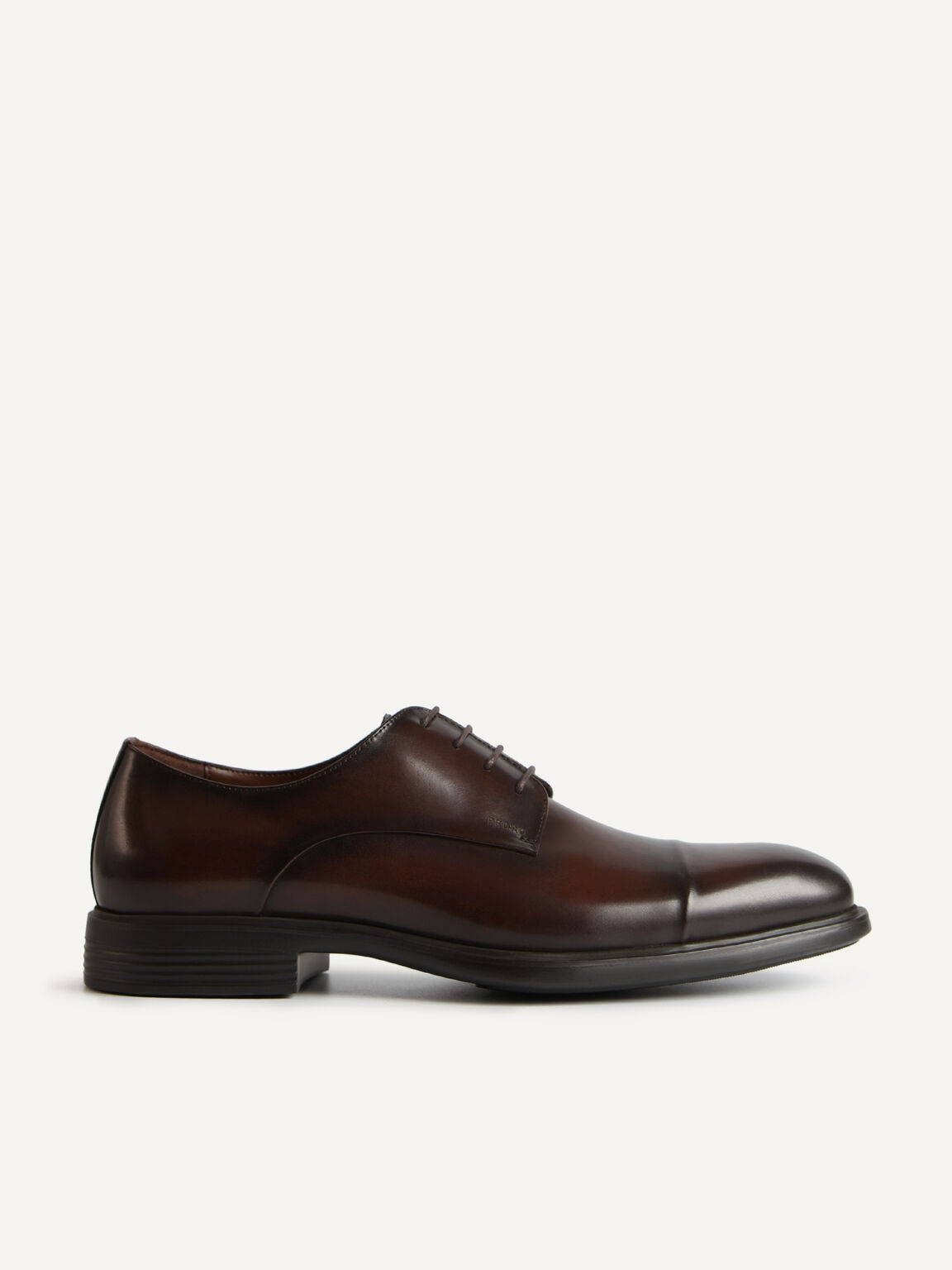 Altitude Leather Toe Derby Shoes, Brown, hi-res
