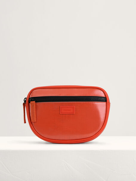 Casual Sling Pouch, Orange, hi-res