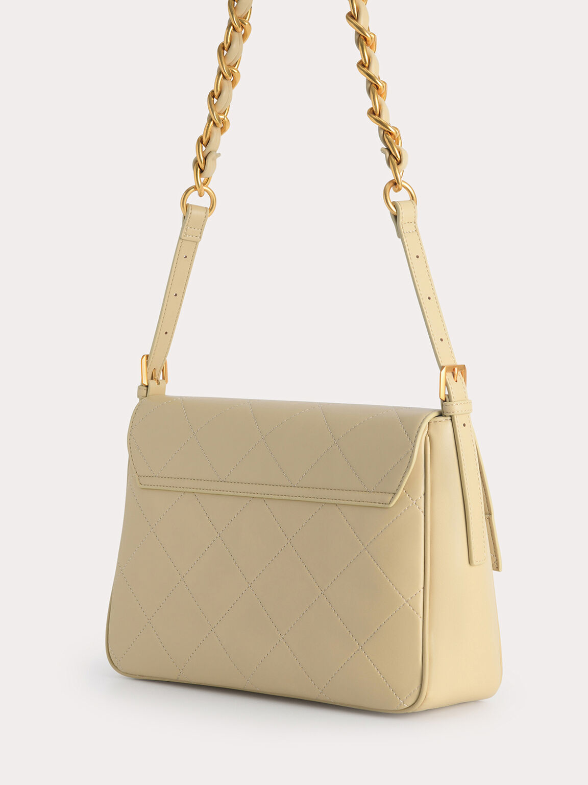 Slouchy Shoulder Bag, Sand, hi-res