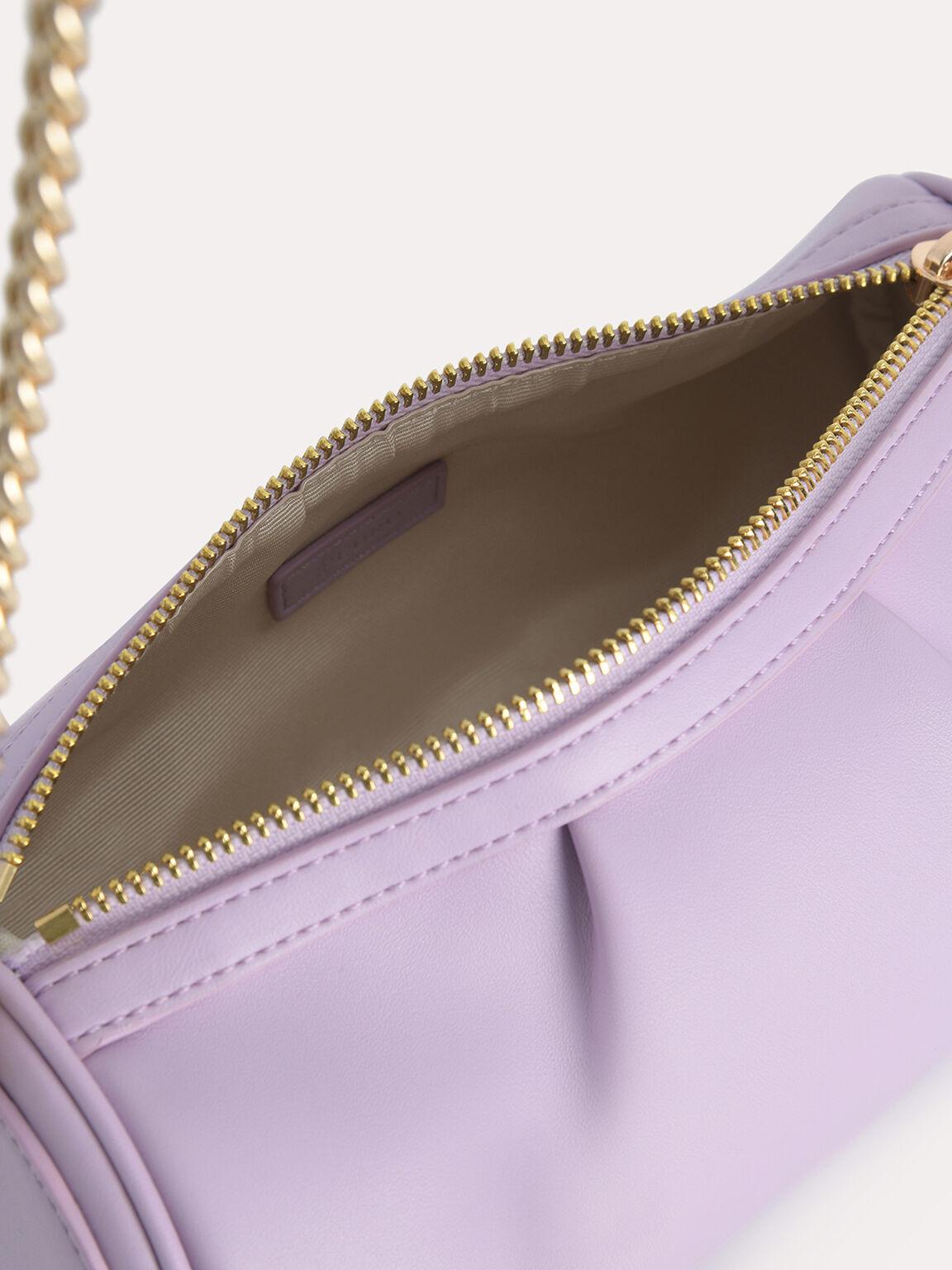 Mini Twisted Rope Shoulder Bag, Lilac, hi-res