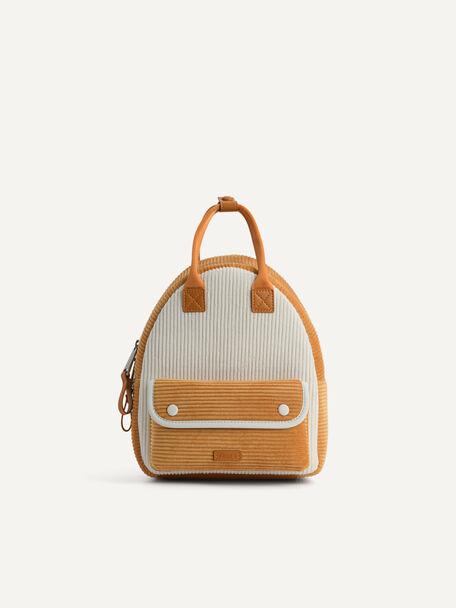 Corduroy Backpack, Mustard, hi-res