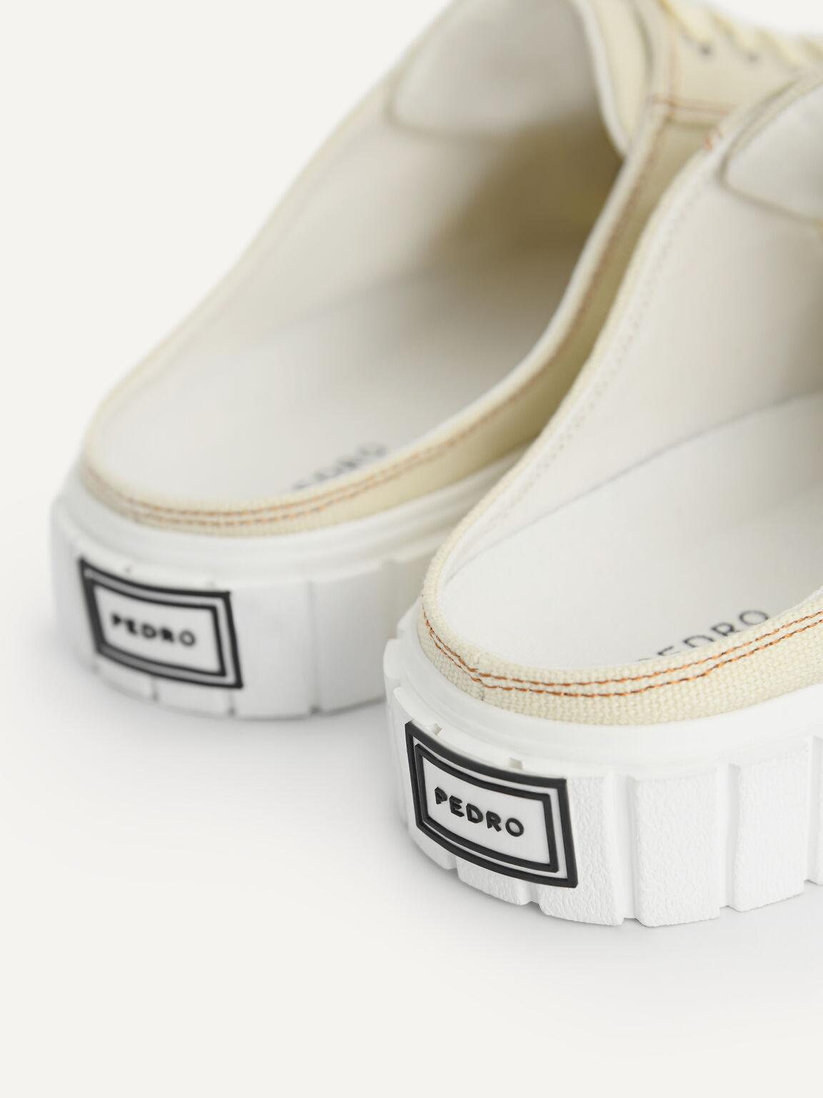 Canvas Slip-On Sneakers, Beige, hi-res