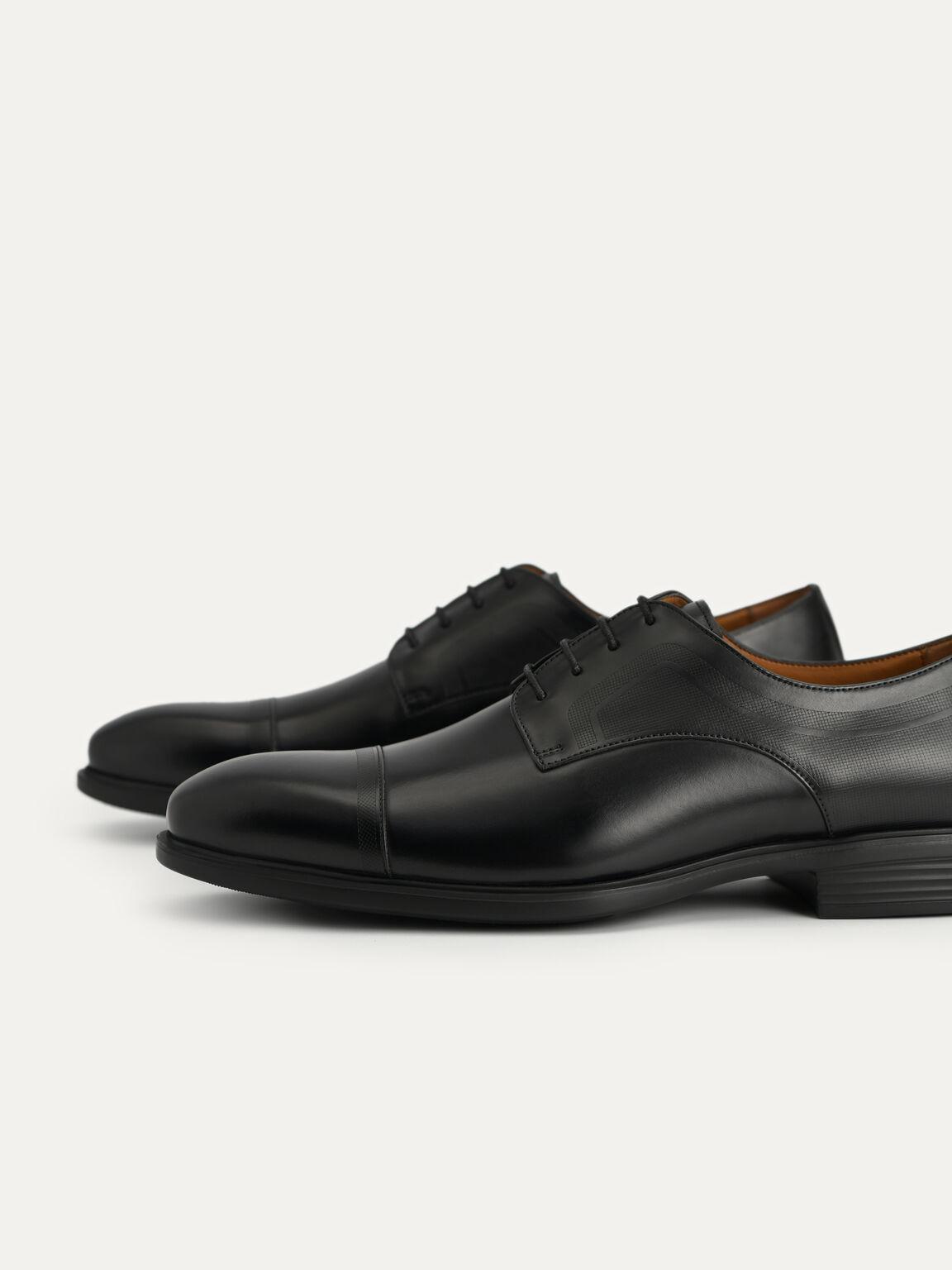 皮革德比鞋, 黑色, hi-res