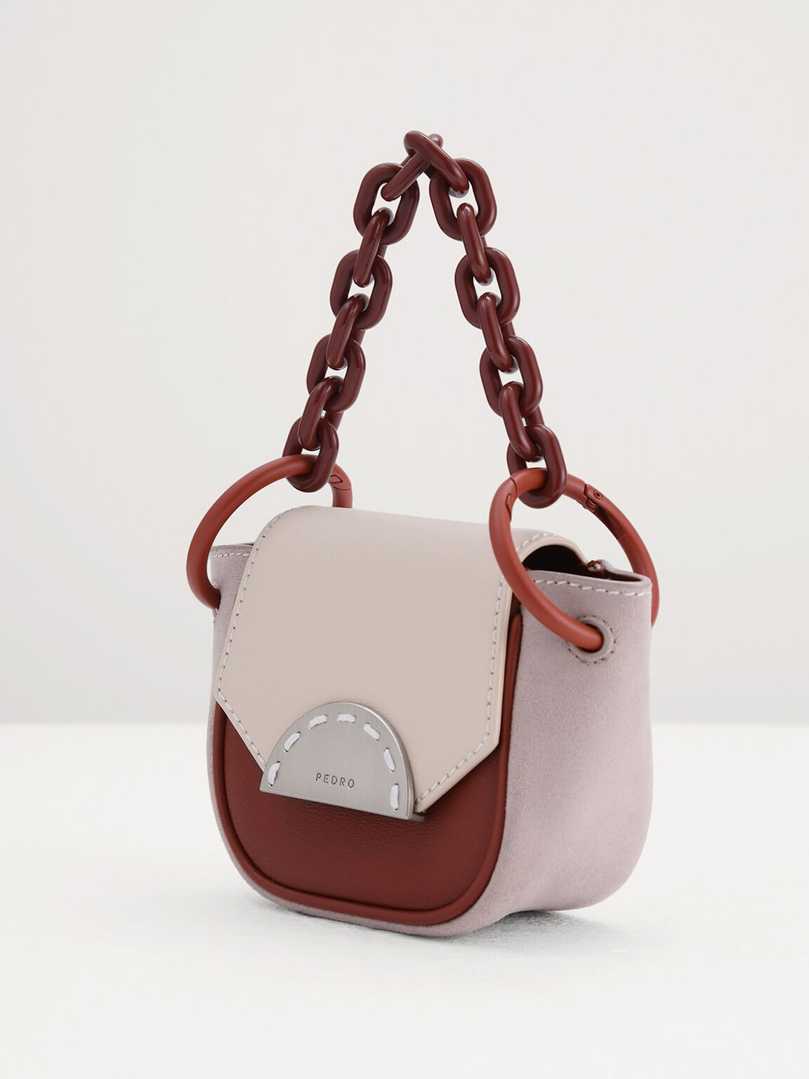 Leather Micro Sling Bag, Multi, hi-res