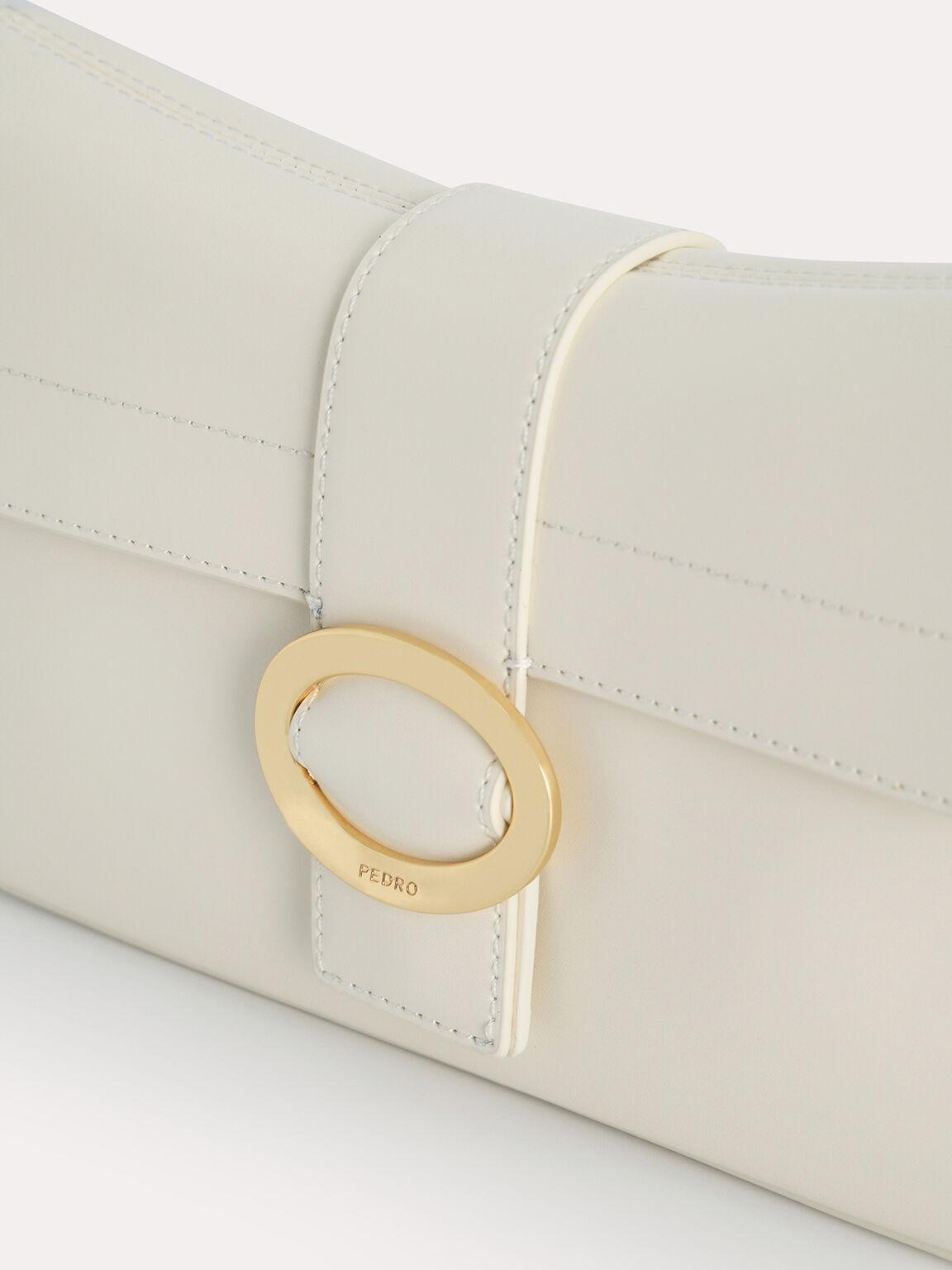Rectangular Top Handle Bag, Chalk, hi-res