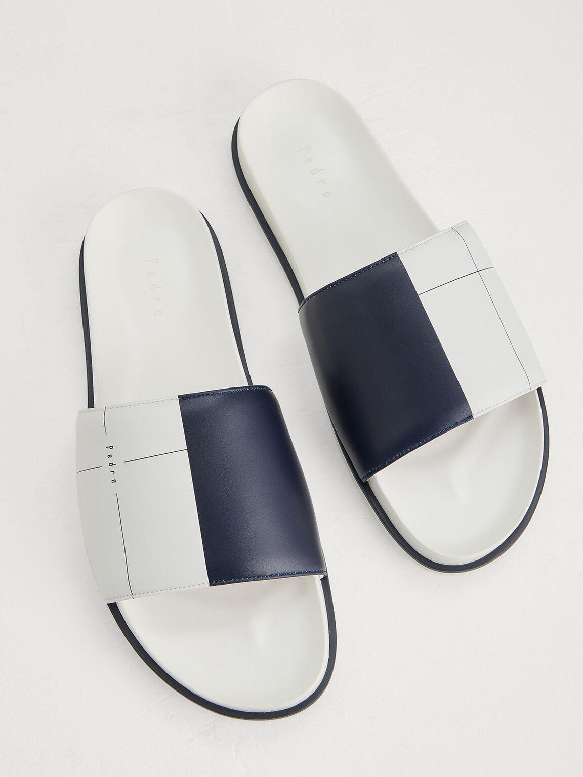 Monochrome Sliders, White, hi-res