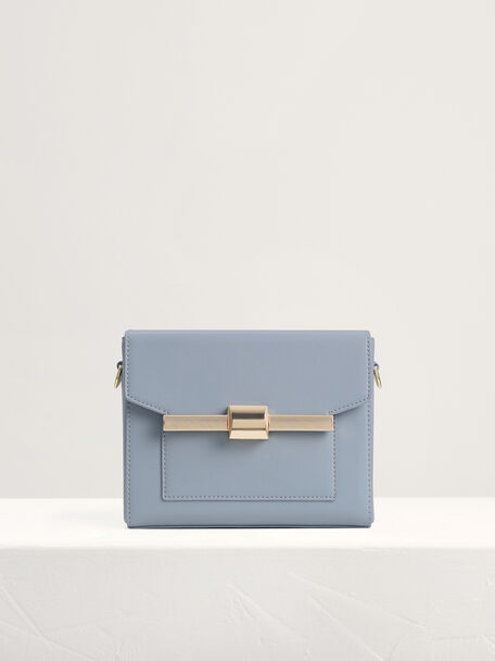 Camera Shoulder Bag, Light Blue, hi-res