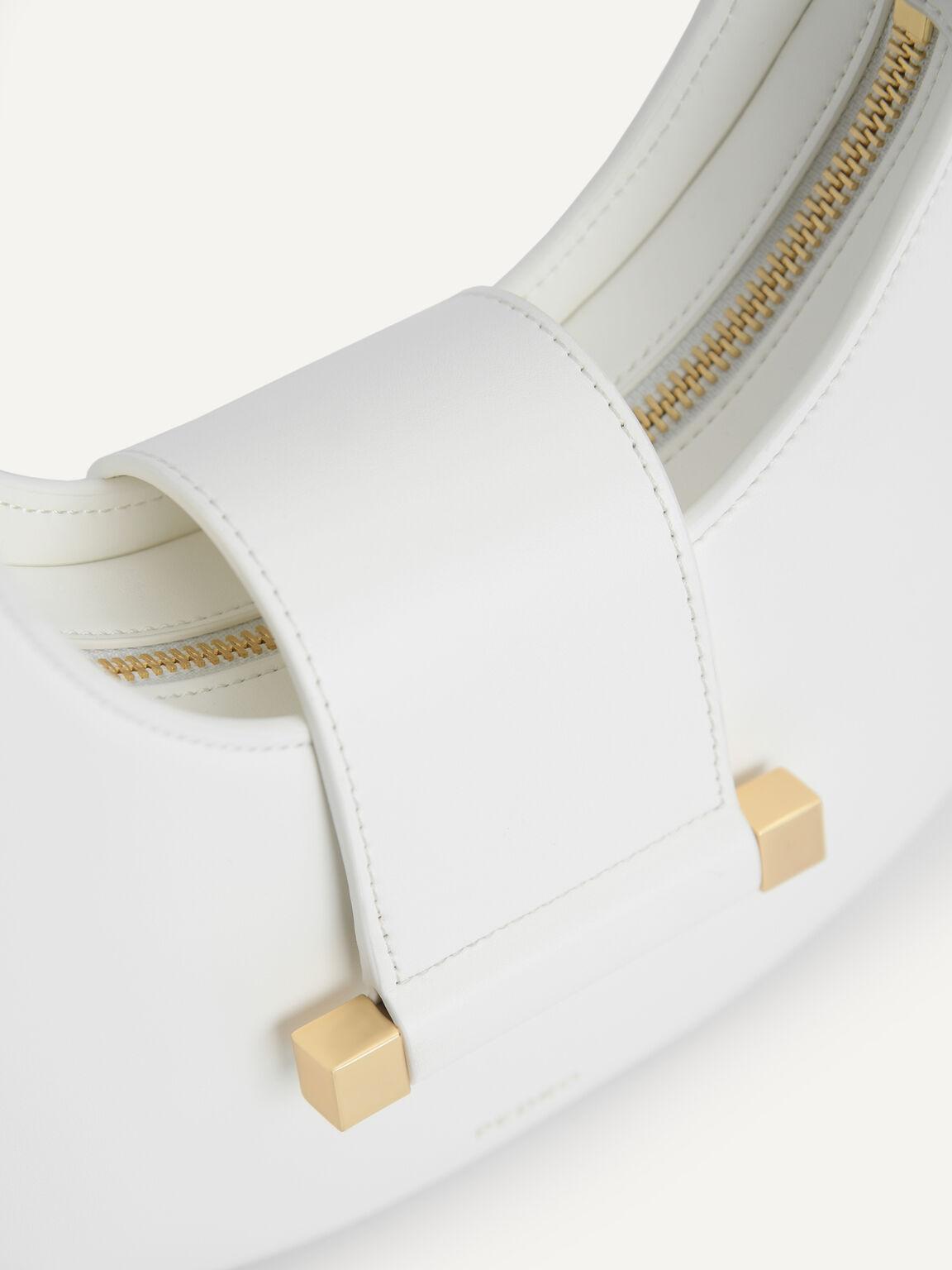 Crescent Shoulder Bag, Chalk, hi-res