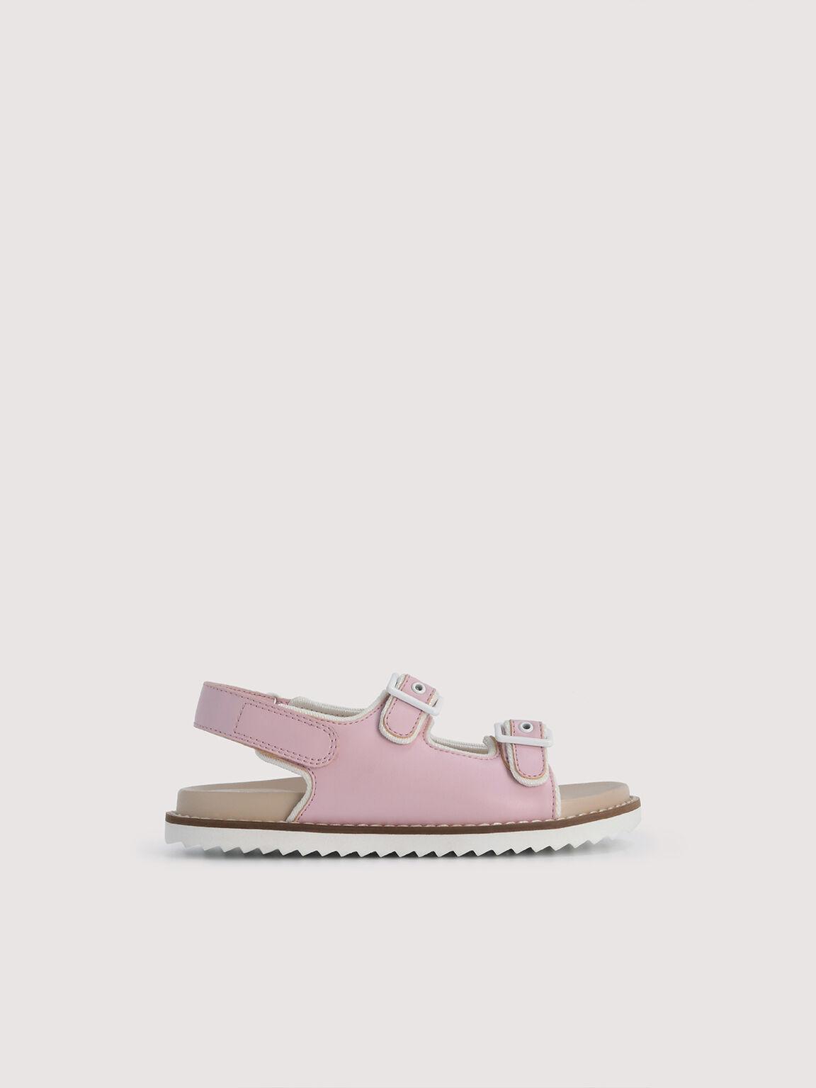 Slingback Sandals, Light Pink, hi-res