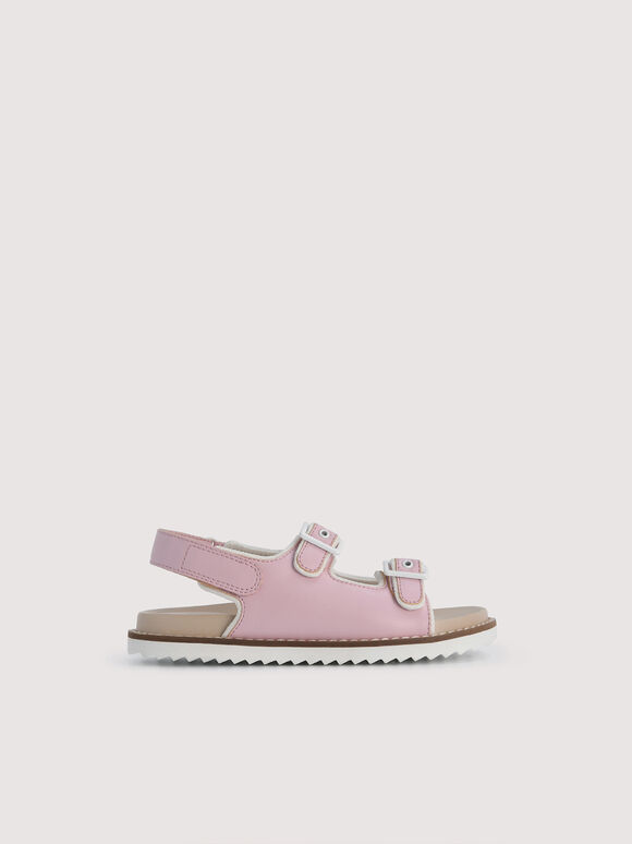 Slingback Sandals, Light Pink, hi-res