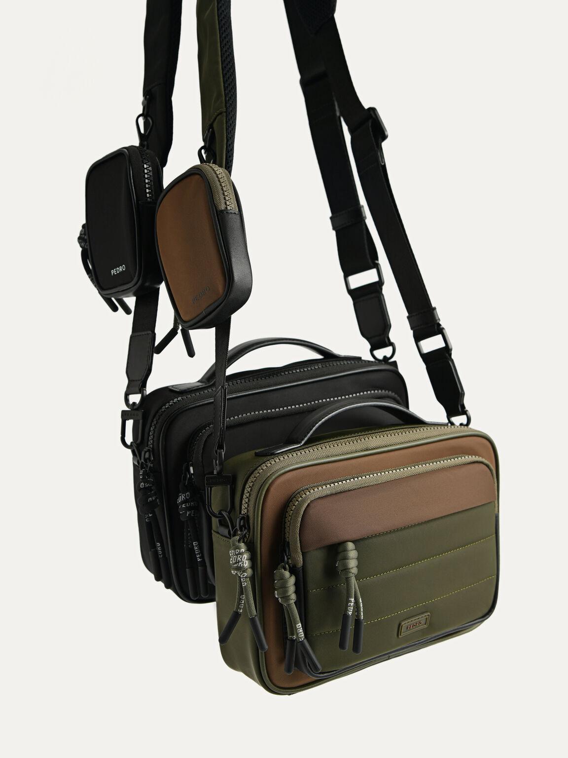 Nylon Sling Bag, Multi, hi-res
