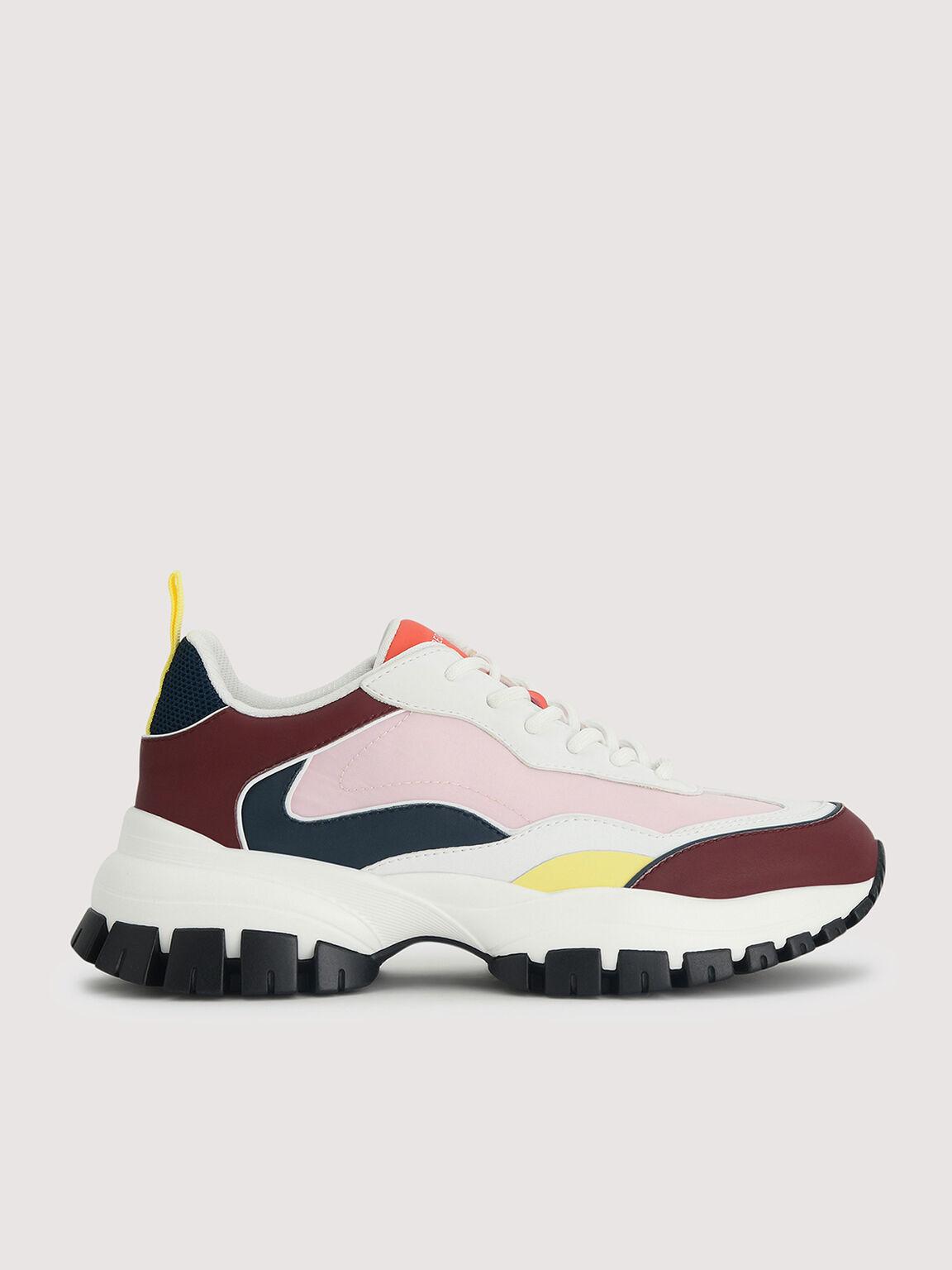Chunky Casual Sneakers, Multi, hi-res