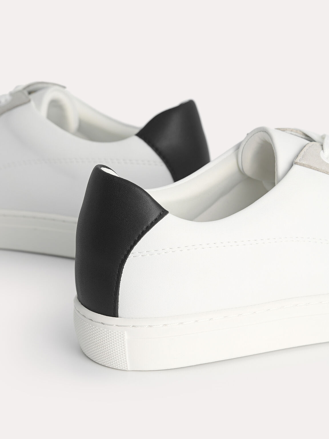 Atlas Casual Court Sneakers, White, hi-res