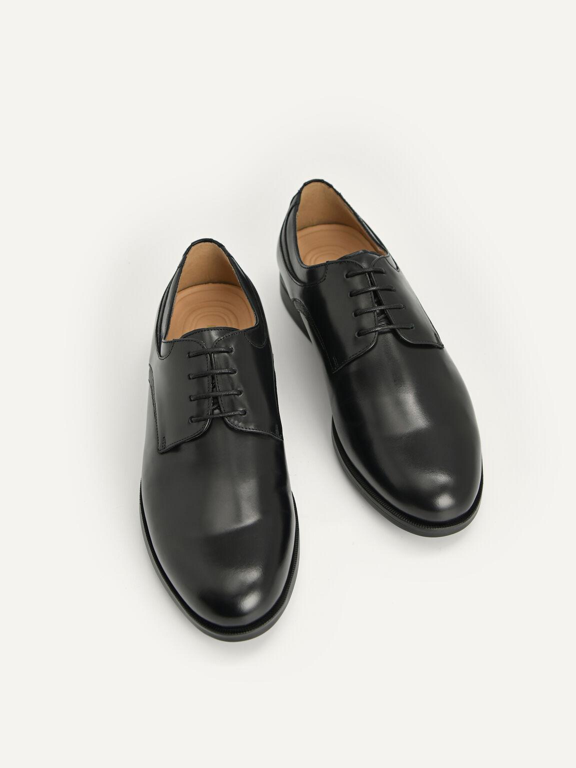 Altitude Leather Derby Shoes, Black, hi-res