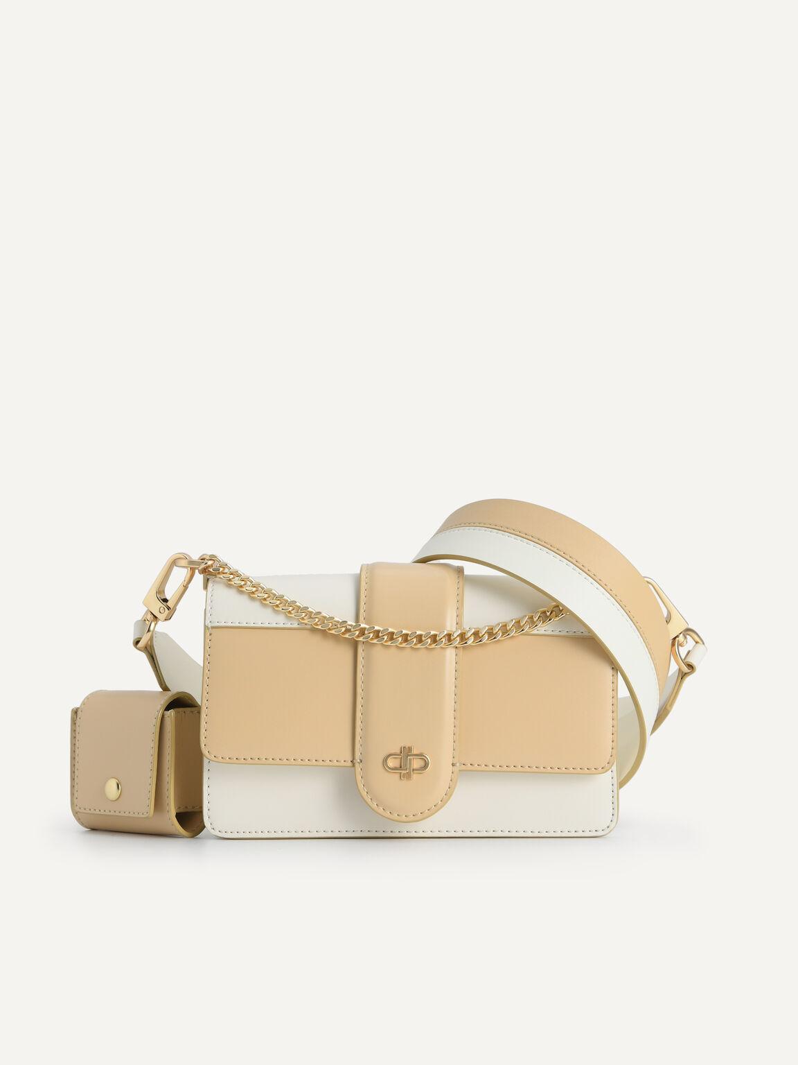 Icon Leather Shoulder Bag, Multi, hi-res