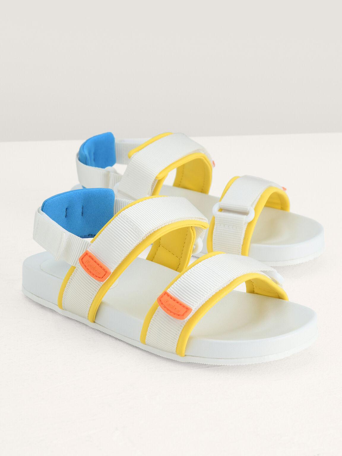 Colour-Block Sandals, Multi, hi-res