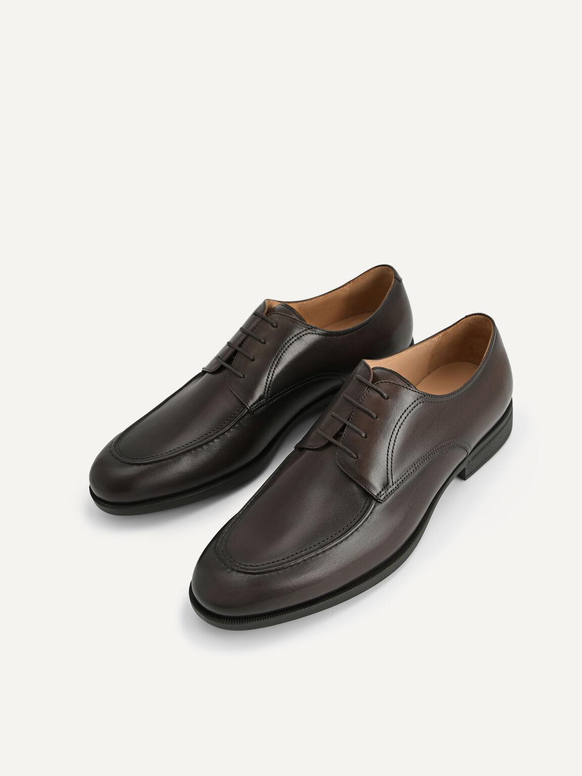 Altitude Leather Derby Shoes, Dark Brown, hi-res