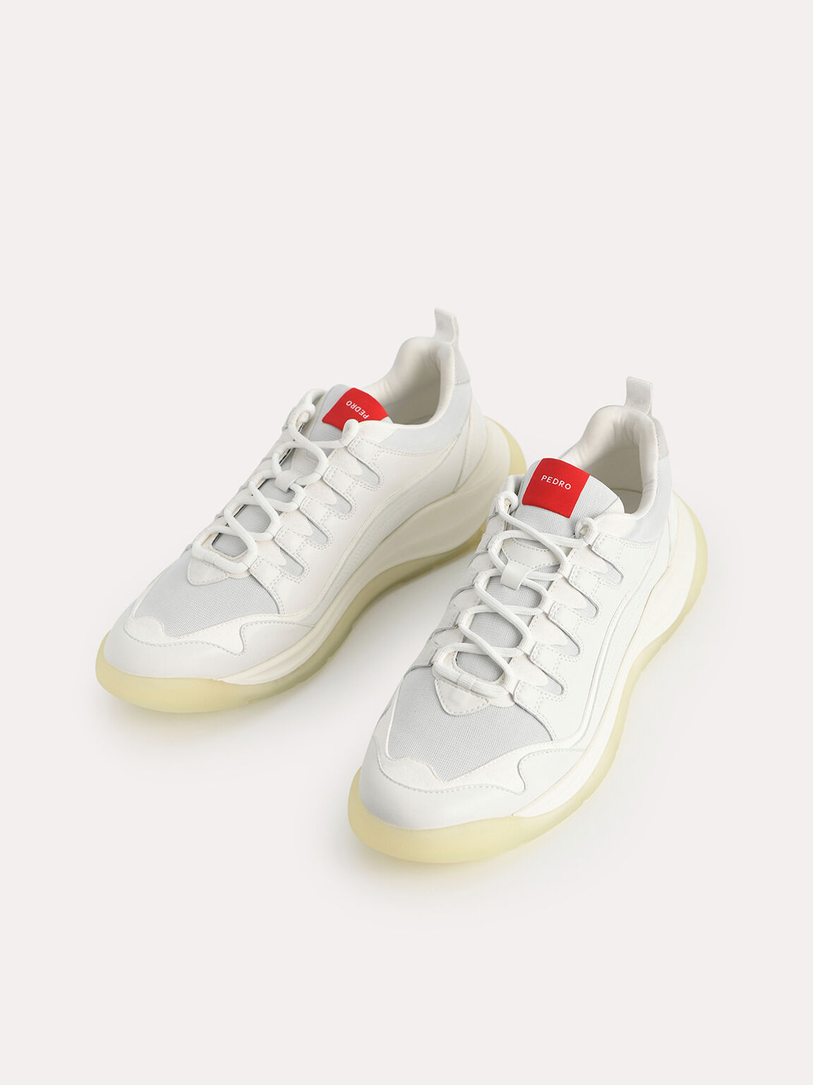 Cloudtrail Sneakers, White, hi-res