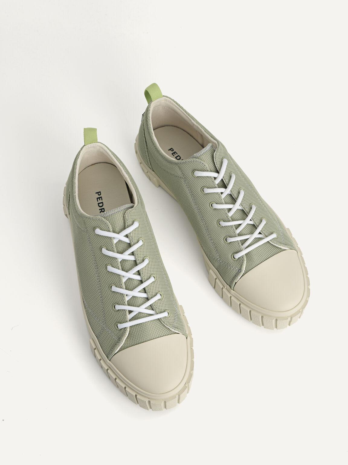 Beat Court Sneakers, Light Green, hi-res