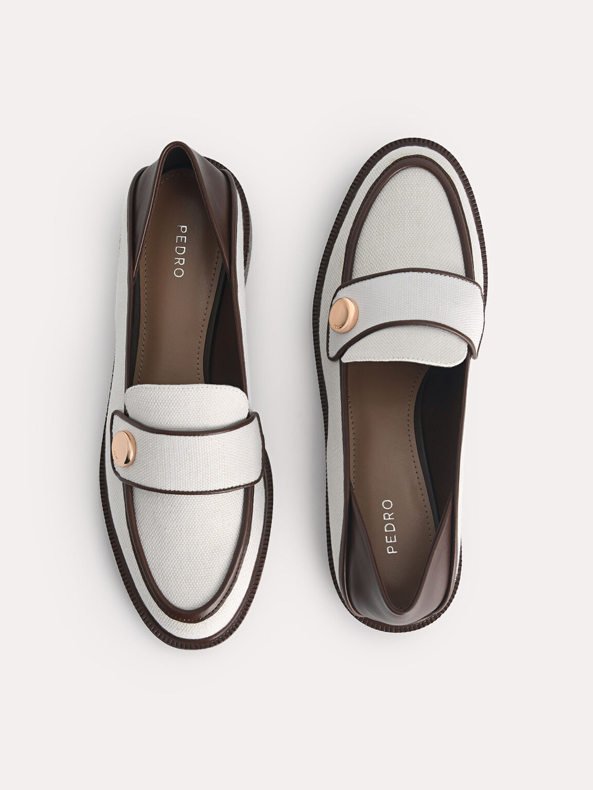 Canvas Loafers, Chalk, hi-res