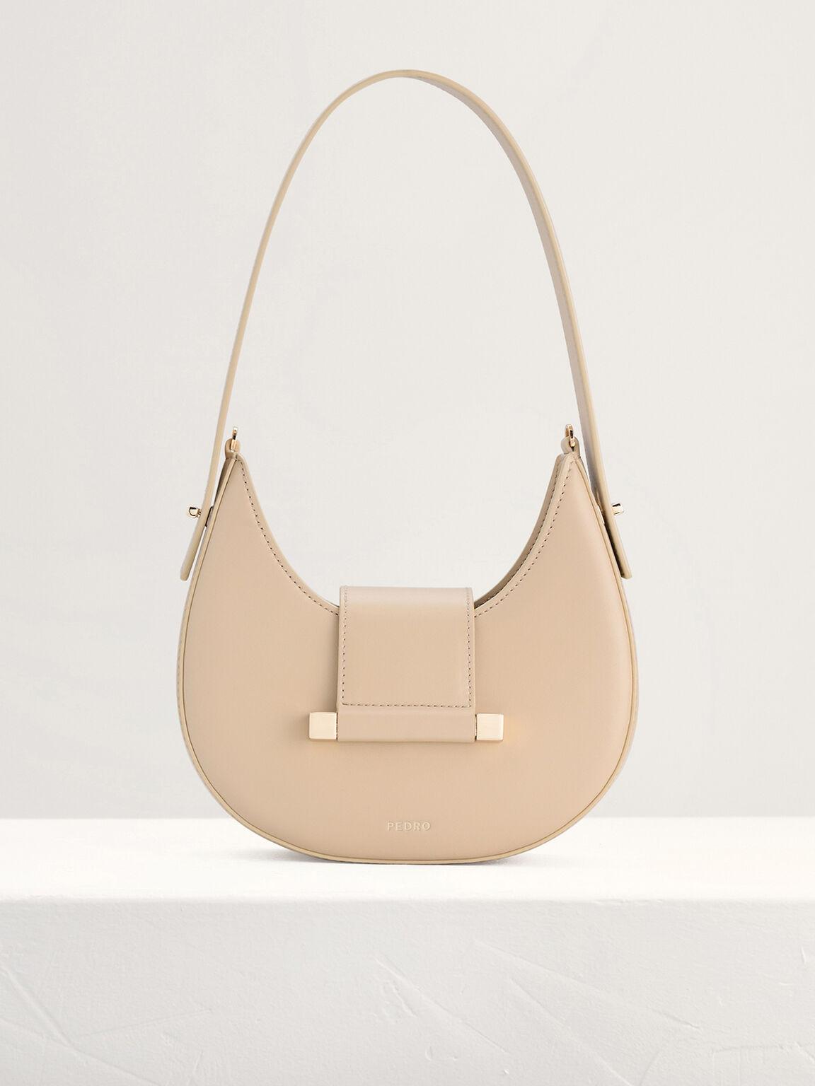 Mini Hobo Bag, Beige, hi-res