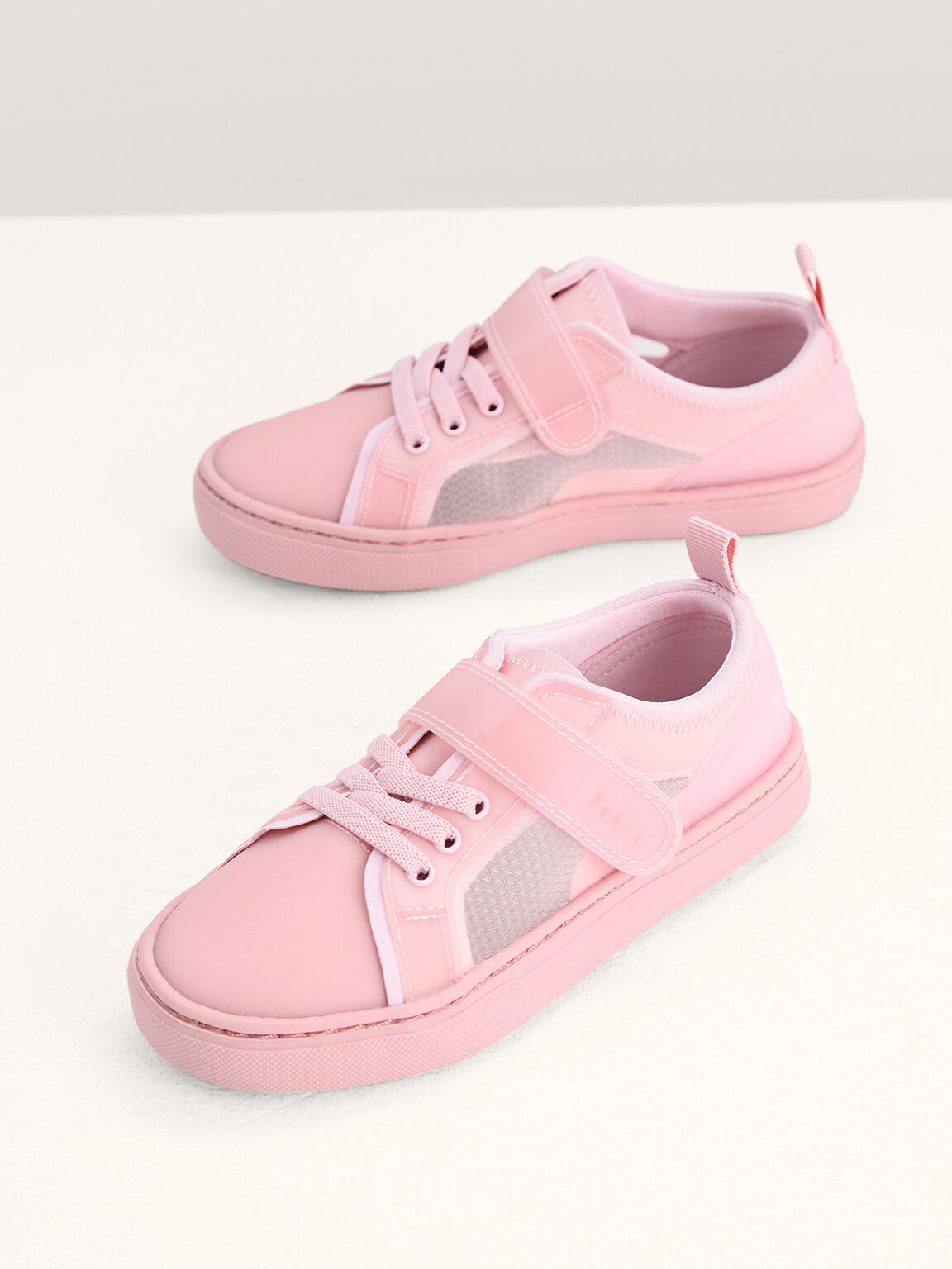 Monochrome Sneakers, Light Pink, hi-res