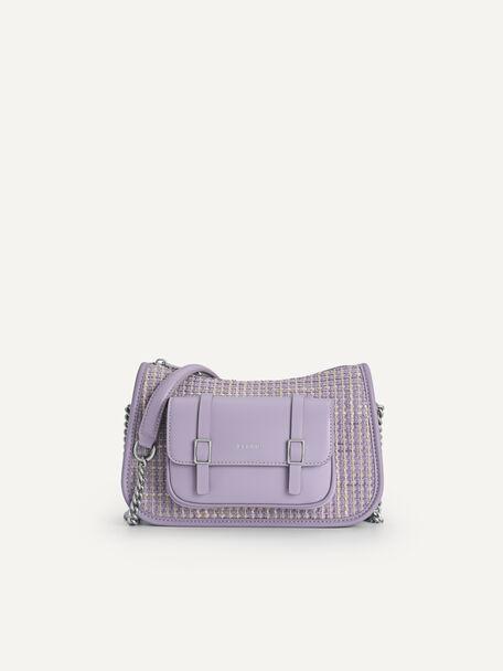 Tweet Shoulder Bag, Lilac, hi-res