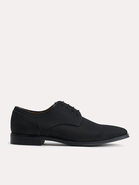 Nylon Derby Shoes, Black, hi-res